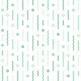Świąteczny abstrakcjonistyczny tło, spada confetti wektoru wzór, minimalistyczna dekoracja, świętowania tło ilustracji