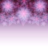 Świąteczny abstrakcjonistyczny tło z kwiat lelujami Fotografia Royalty Free