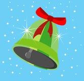 Świąteczny bluebell na błękitnym tle Zdjęcia Royalty Free