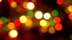 Świąteczny Bożenarodzeniowy tło z światłami zbiory