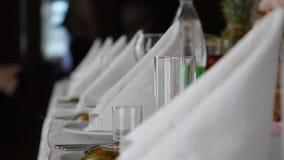 Świąteczny bufeta stół zbiory wideo