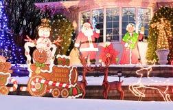 Świąteczny Bungalow zdjęcia royalty free