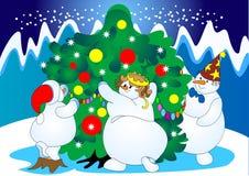 świąteczny drzewo ilustracji