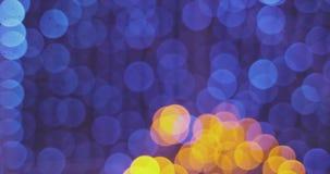 Świąteczny jaskrawy zamazany bokeh Zamazany bo?onarodzeniowe ?wiat?a abstrakta t?o zdjęcie wideo