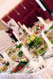 Świąteczny jedzenie Obrazy Royalty Free