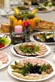 Świąteczny jedzenie Zdjęcie Stock