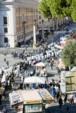 Świąteczny korowód księża maszeruje St Peter katedra obraz stock