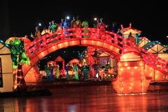 świąteczny lampion Fotografia Royalty Free