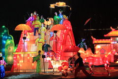 świąteczny lampion Zdjęcia Stock