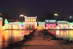 świąteczny lampion Obrazy Royalty Free