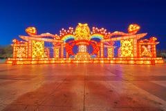 Świąteczny lampion jutro - Błogosławi - Zdjęcie Royalty Free