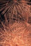 Świąteczny nocy przedstawienie fajerwerki Obraz Stock