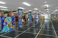 Świąteczny nowego roku ` s foyer Fotografia Royalty Free