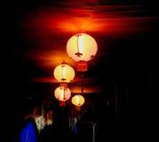 Świąteczny obwieszenia światło Zdjęcie Stock