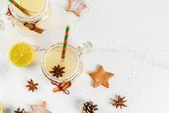 Świąteczny Snowball koktajl Zdjęcia Royalty Free