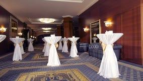 Świąteczny stół dekorujący na dniu ślubu zbiory