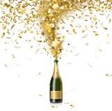 Świąteczny szampan Zdjęcie Royalty Free