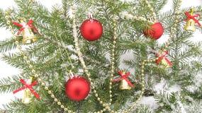 Świąteczny tło dla bożych narodzeń i nowego roku Zdjęcia Royalty Free