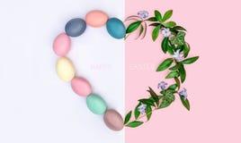 Świąteczny Wielkanocny skład na widok pojęcie wiosna i uczta Passover fotografia royalty free