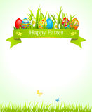 Świąteczny Wielkanocny tło Obrazy Stock