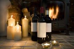 świąteczny wino obrazy stock