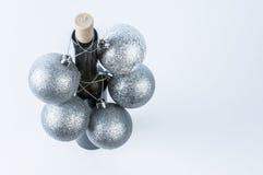 Świąteczny wino Zdjęcia Royalty Free
