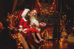 Świąteczny zakaźny śmiech obrazy royalty free