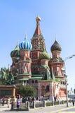 Świątobliwa basilu ` s katedra w Moskwa Zdjęcia Stock