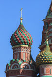 Świątobliwa basilu ` s katedra w Moskwa Zdjęcie Stock