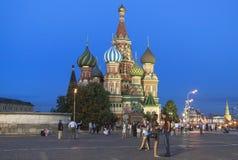 Świątobliwa basilu ` s katedra w Moskwa Obraz Stock