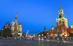 Świątobliwa basilu ` s katedra w Moskwa Zdjęcia Royalty Free