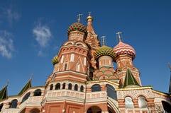 Świątobliwa basilu ` s katedra w placu czerwonym, Moskwa, Rosja Obrazy Stock