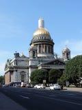 Świątobliwa Isaacs katedra, St Petersburg obraz royalty free