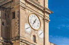 Świątobliwa John katedra w Valletta, Malta Obraz Stock