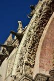 Świątobliwa Mark gothic wrotna dekoracja Fotografia Royalty Free