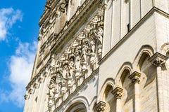 Świątobliwa Maurice katedra złości, Francja Obrazy Royalty Free