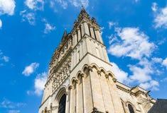 Świątobliwa Maurice katedra złości, Francja Zdjęcie Stock