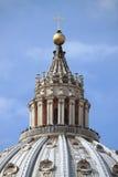 Świątobliwa Peter katedry kopuła Zdjęcie Stock