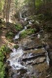 Świątobliwa Spirytusowa siklawa i wiosna w Rhodopes górze Obrazy Royalty Free