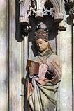 świątobliwa statua Zdjęcia Royalty Free