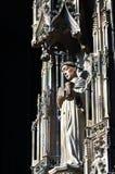 świątobliwa statua Zdjęcie Stock