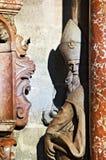 świątobliwa statua Obraz Royalty Free