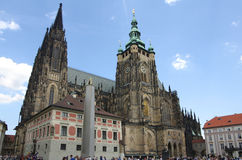 Świątobliwa Vitus katedra Obraz Royalty Free