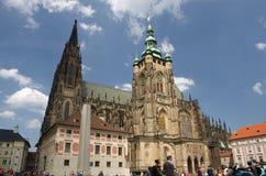 Świątobliwa Vitus katedra Obraz Stock