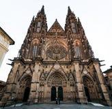 Świątobliwa Vitus katedra Obrazy Royalty Free