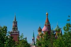 Świątobliwego basila Katedralny Sobor Vasiliya Blazhennogo zdjęcie royalty free