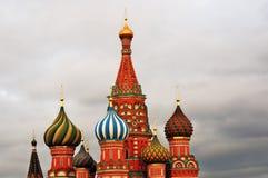 Świątobliwi basile Katedralni w Moskwa Zdjęcie Royalty Free