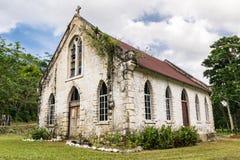 Świątobliwy Andrew kościół anglikański w Świątobliwej Maryjnej parafii, Jamajka fotografia stock