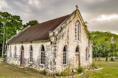 Świątobliwy Andrew kościół anglikański w Świątobliwym Mary, Jamajka fotografia stock
