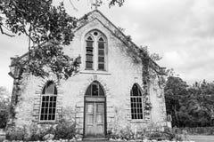 Świątobliwy Andrew kościół anglikański w wsi Jamajka fotografia royalty free